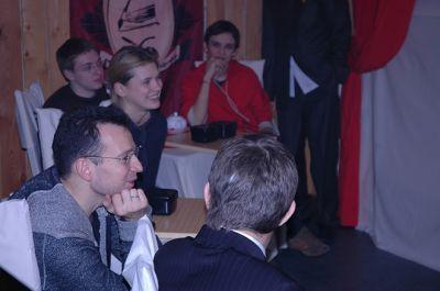 Василий Якеменко на лекции по игре Го
